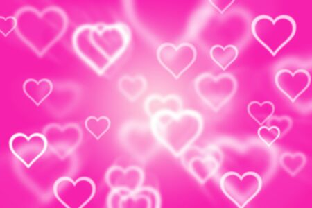 abstract background with colorful heart background photo