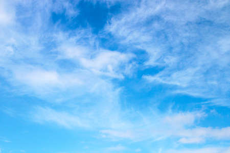 abstract blue sky background Stock Photo