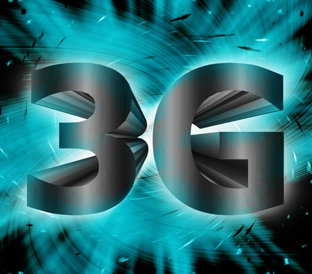 abstract of 3G network symbol Stock Photo - 17812172