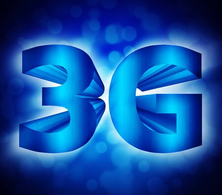 abstract of 3G network symbol photo