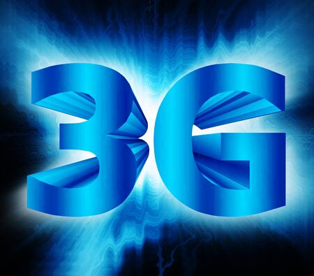abstract of 3G network symbol Stock Photo - 17812154