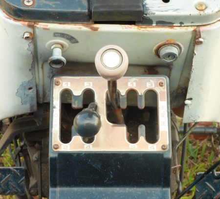 gearshift: Four Speed Tractor Gearshift Knob