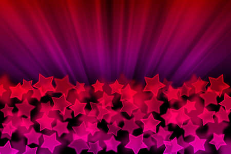 bokeh background: abstract background with star texture Stock Photo
