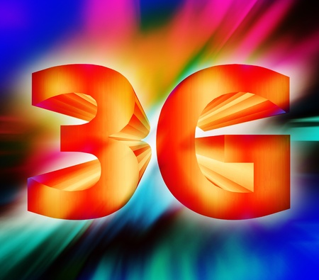 3g: abstract of 3G network symbol