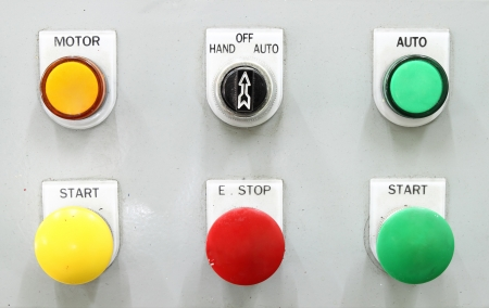 industrial switching button control panel