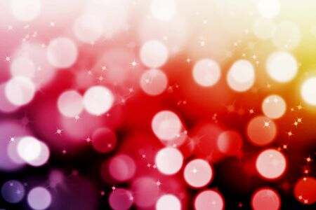 abstract magic bokeh background with  glittering stars photo