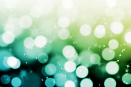 abstract magic bokeh background with  glittering stars Stock Photo