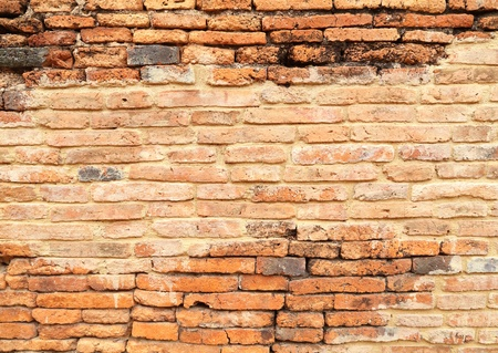 ancient brick wall texture background photo