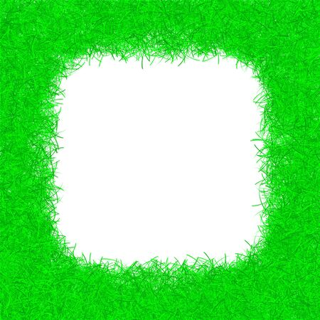 green christmas tinsel texture background blank for text photo