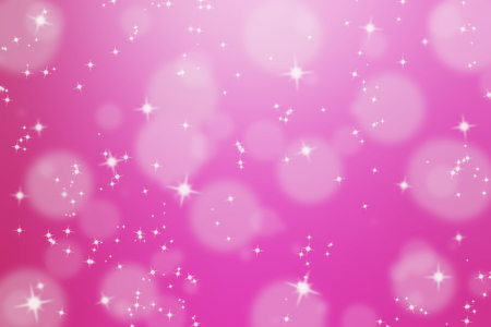 abstract background with glittering star and bokeh