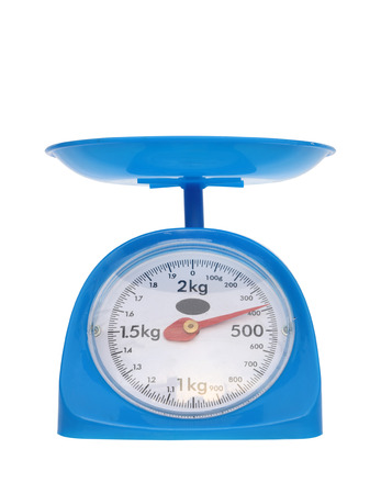 gram: weight measurement balance isolated on white background (400 gram)