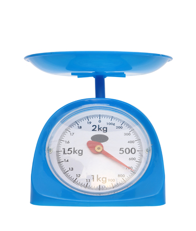 gram: weight measurement balance isolated on white background (700 gram)
