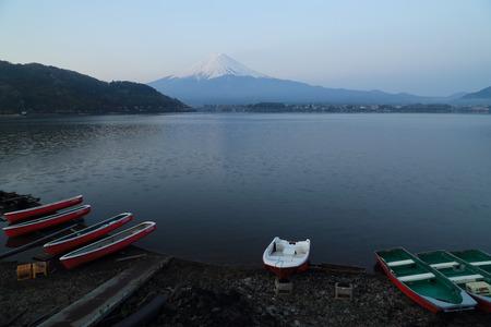 kawaguchi: Mount Fuji, view from Lake Kawaguchiko, Japan