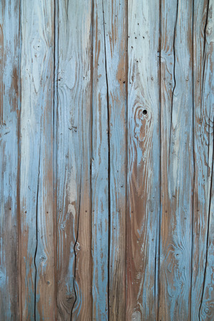 driftwood: old blue wood wall texture
