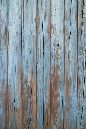 old blue wood wall texture Banco de Imagens - 29026377