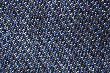 Close up of blue jeans texture background photo