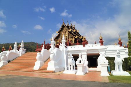 Royal Park Rajapruek (Hor Kam Luang) in Chaing Mai, Thailand photo