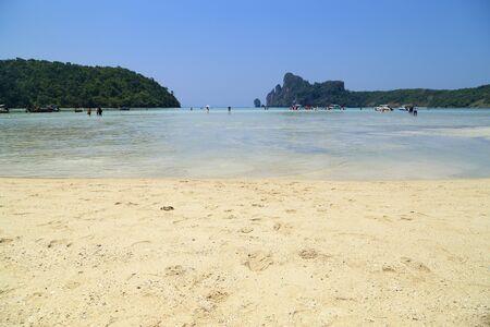 Loh Dalum beach, Phi-Phi Don island, Thailand Archivio Fotografico