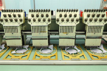 Machine embroidery is an embroidery process whereby a sewing machine photo