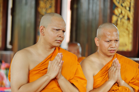 be the change: the ordination ceremony that change the Thai young men to be the new monks