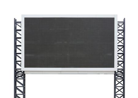 gran tablero de la muestra aislada en un fondo blanco (con el recorte de la parte)
