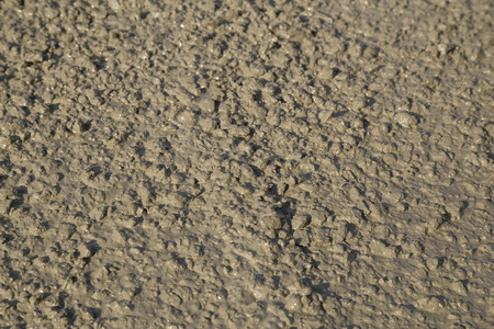 wet: Texture of fresh mortar. Wet cement at construction site Stock Photo