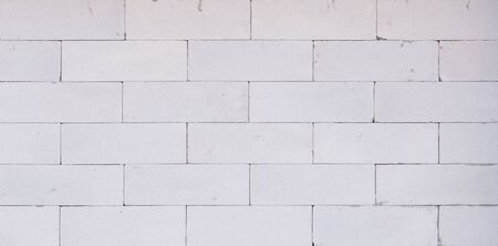 lightweight: background texture of white Lightweight Concrete block, Foamed concrete block, raw material for industrial wall or house wall