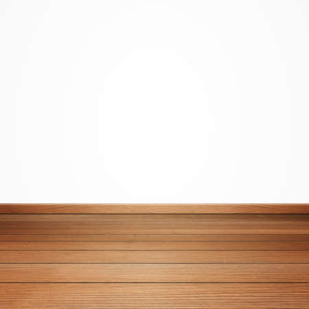 on wood floor: brown wood floor isolated on a white background