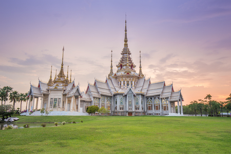 Wat Luang Pho Toh temple or Wat Non Kum temple in Nakhon Ratchasima province, Thailand (The public anyone access)