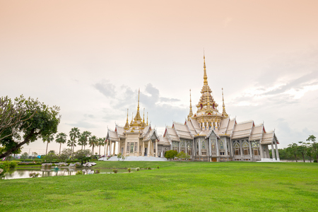 korat: Wat Luang Pho Toh temple or Wat Non Kum temple in Nakhon Ratchasima province, Thailand (The public anyone access)