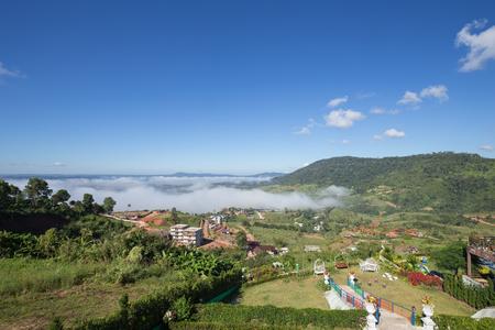 koh kho khao: fog in the morning with mountain at Khao Kho, Phetchabun, Thailand