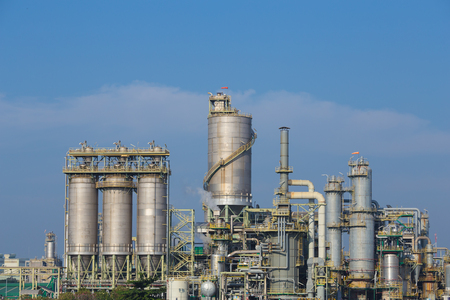 rayong: chemical industry plant, Rayong, Thailand Stock Photo
