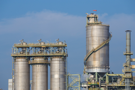 chemical industry plant, Rayong, Thailand Stock Photo