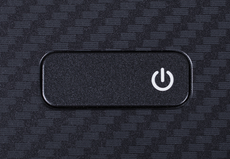 power button on the keyboard of laptop
