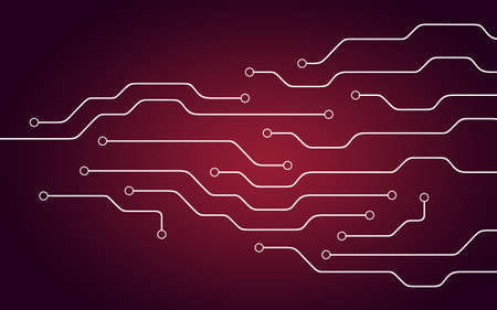 circuitry: Background illustration of close up chipset. Electronical theme