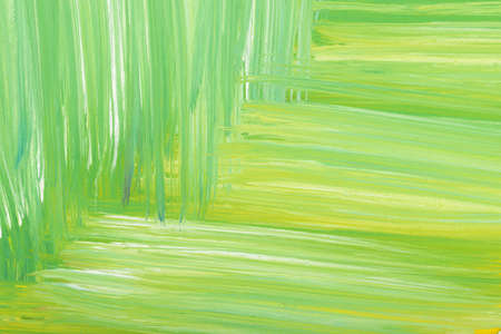 daub: Green abstract hand-painted gouache brush stroke daub background texture. Art. Expression of its own thoughts. Outpouring. Backgrounds.
