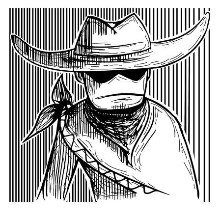 scheide: Cartoon Cowboy