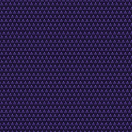 Triangle. Stylish pyramids. Seamless vector pattern. Abstract background. Isolated purple background. Repeating geometric ornament. Flat style. Idea for web design, packaging, wallpaper, cover.