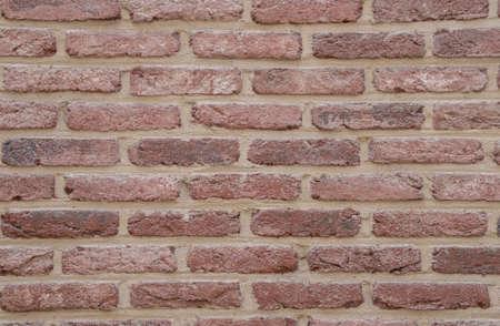 Brick wall background pattern in Antwerpen, Belgium.
