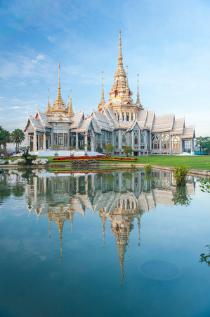 none: Wat None Kum temple Stock Photo