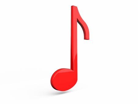 quarter note: Single musical note