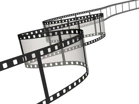 Ribbon of the film Stock Photo - 3181470