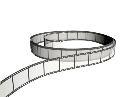 Roll of the film Stock Photo - 3181469