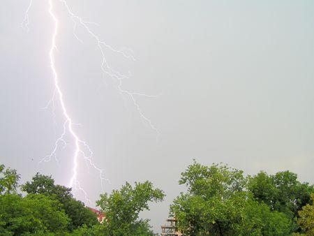 Thunder among the sky