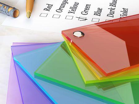 Colors catalogue