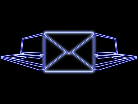Conceptual e-mail sent idea