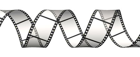 Horizontal ribbon of the film