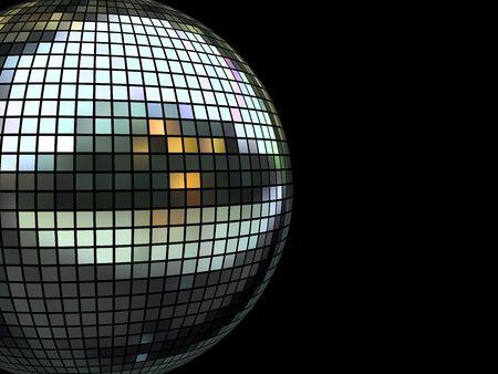 Nightclub disco equipment isolated on black in XXL size