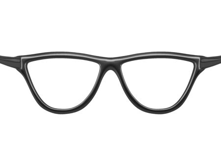 xxxl: Kind through glasses. Isolated image in XXXL