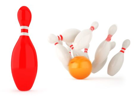 Successful business for example of bowling